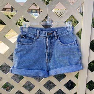 Vintage Rio High-waisted Denim Shorts